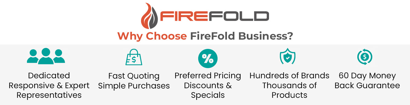 why choose firefold business banner