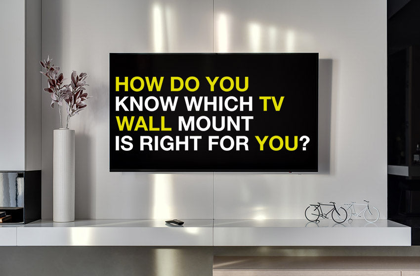 which wall mount tv right