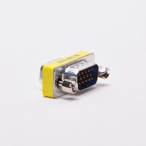 VGA Adapter - DB15HD Male to Male Mini Gender Changer Image 2