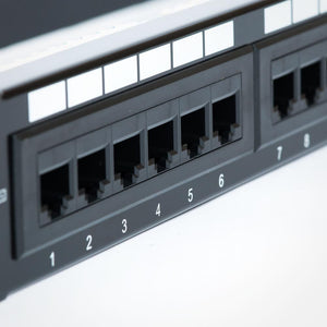 24 Port CAT6 Patch Panel with Bracket Image 5 at FireFold.com