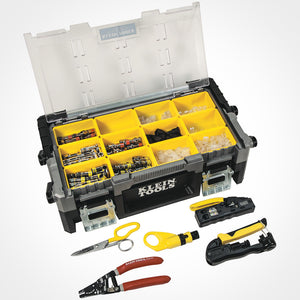 Klein Tools ProTech Data & Coaxial Kit Open