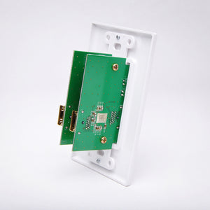 Dual HDMI Repeater Wall Plate - 150ft Zoom View