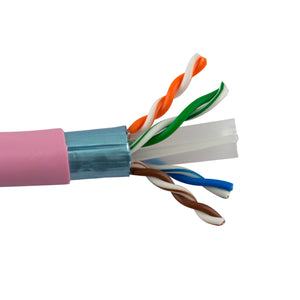 SCP HNCPROPLUS+™ Cat6 SHIELDED 1000ft, Pink
