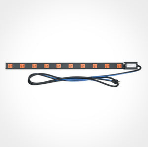 Middle Atlantic PDT-1020C-NS - 10 Outlet 20A Power Strip @ Firefold.com