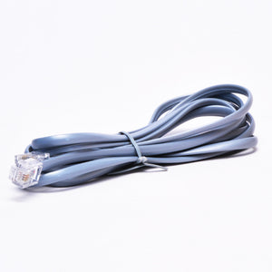 RJ11 Telephone Cable - Straight Data Alternative Side View