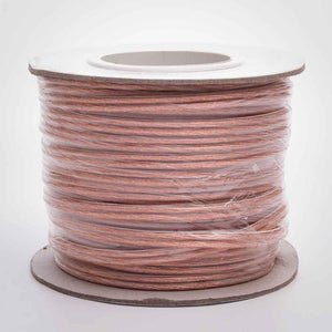 Flexible Clear Polarized Speaker Wire - 12AWG, 14AWG, 16AWG, 18AWG