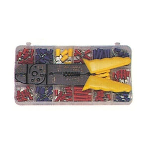 Morris 175 Piece Terminal Kit with Crimp Tool