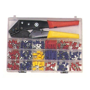 Morris 200 Piece Terminal Kit with Controlled Cycle Crimp Tool