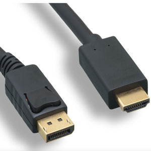 DisplayPort to HDMI Cable (10-15ft)