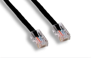 Cat6 Ethernet Patch Cable, Black