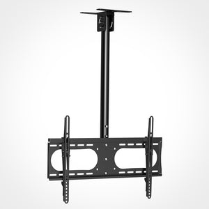 Rhino Brackets Tilt Ceiling TV Mount with Adjustable Pole - 37 to 65 Inch Screens