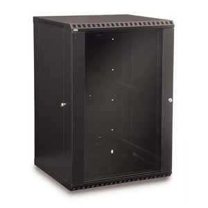 Kendall Howard 18 Unit (18U) Fixed Wall Mount Cabinet