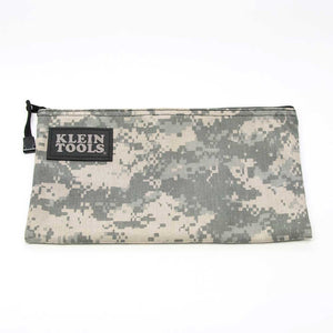 Klein Tools 5139C Camouflage Cordura Zipper Bag