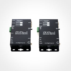 Zigen HDBaseT Receiver over Single Cat5e/6/7 up to 100m for use with HX-88 and HX-1616 HDBaseT Modular Matrixes Front View