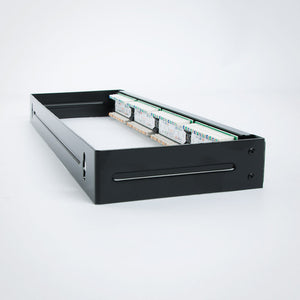 24 Port CAT6 Patch Panel with Bracket Image 4 at FireFold.com