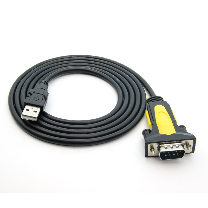 USB to RS232 Serial Adapter Cable - USB 2.0 to DB9