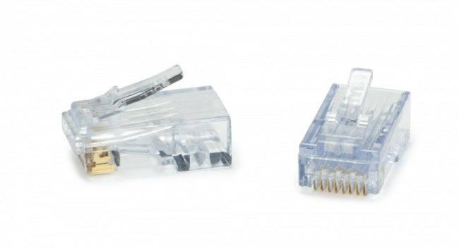 Platinum Tools ezEX®38 RJ45 Cat5e Connector - 25 Pack, 100048C