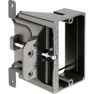 Arlington Adjustable Depth Mounting Bracket, Single Gang