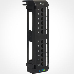 ICC 12 Port Cat6 Vertical Patch Panel