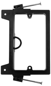 Vertical Cable Nail On Mounting Bracket - Low Voltage