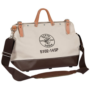Tool Bag with Detachable Shoulder Strap has 10 Inside Pockets for Hand Tool Storage