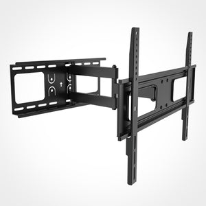 Rhino Brackets Articulating Curved and Flat Panel TV Wall Mount for 37-70 Inch Screens