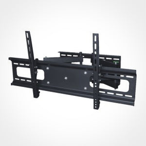 Full Motion TV Wall Mount Bracket - 37 to 70 Inch Screens, Dual Arm