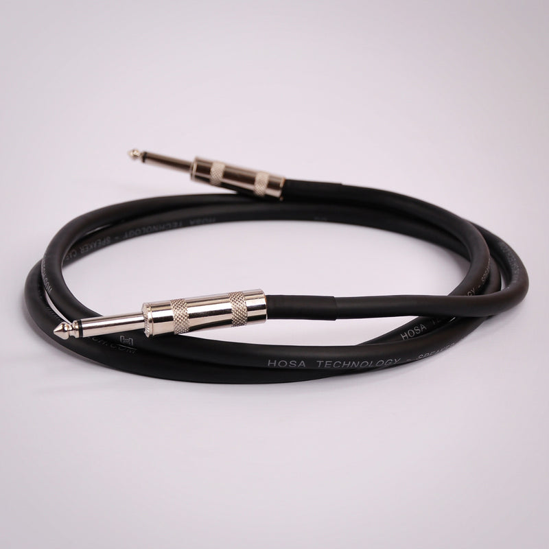Hosa Speaker Cable - Quarter Inch TS to Same