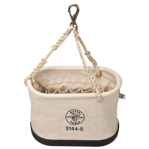 Oval Bucket with 15 Interior Pockets