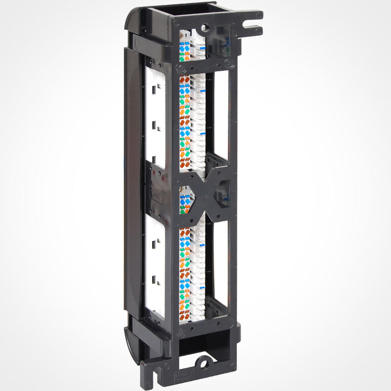ICC 12 Port Cat5E Vertical Patch Panel