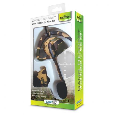 dreamGEAR Wired Headset for Xbox 360