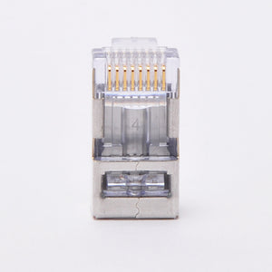 Platinum Tools 100020 Shielded CAT5E/CAT6 RJ45 EZ-RJ45 Connector