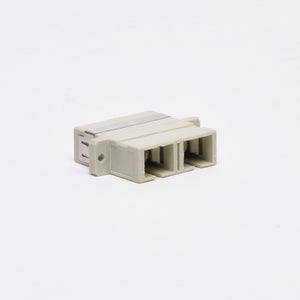 Fiber Adapter - SC-SC Female to Female Multimode Duplex, Plastic