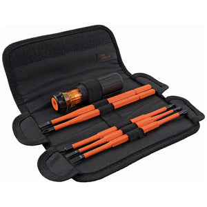 Klein Tools 8-in-1 Insulated Interchangeable Screwdriver Set, 32288