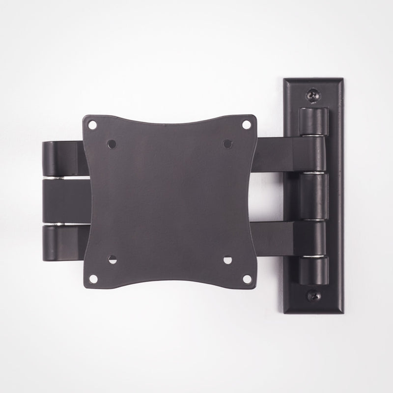 Rhino Brackets Monitor Mount Bracket - 13 to 27 Inch 33lb 3 Way Adjustable, Black