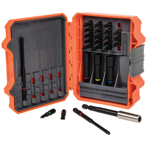 Klein Tools 32799 Pro Impact Power Bit Set, 26 Piece