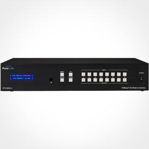 PureLink HTX-8800-U Ultra HD 8x8 HDMI to HDBaseT Matrix Switcher with PoE