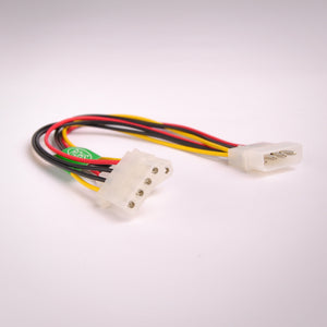 6 Inch 4 Pin IDE Power Y Splitter