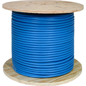 Cat5E Bulk Cable-Plenum Cable In Solid Shield & Copper