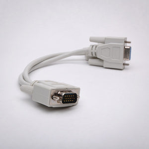 8 Inch VGA Splitter Cable Side View