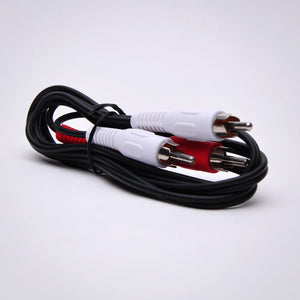 2 RCA Audio Cable - Male to Male