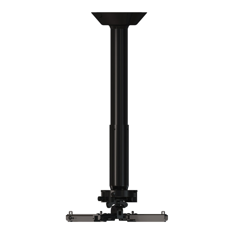 Crimson-AV JKR3-18A 12 to 18 Inch Projector Ceiling Mount with JR3 Universal Adapter (up to 70lbs)