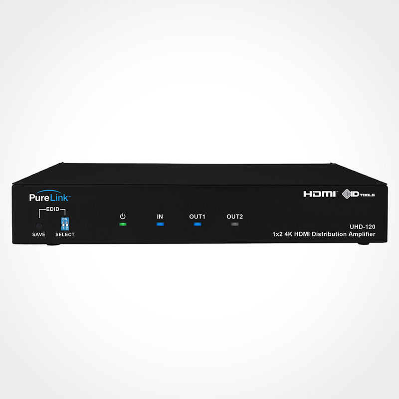 PureLink UHD-120 1x2 Ultra HD/4K HDMI Distribution Amplifier
