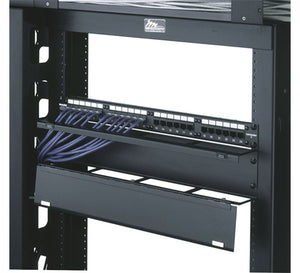 Middle Atlantic HHCM-2, 2 Space Hinged Horizontal Cable Manager