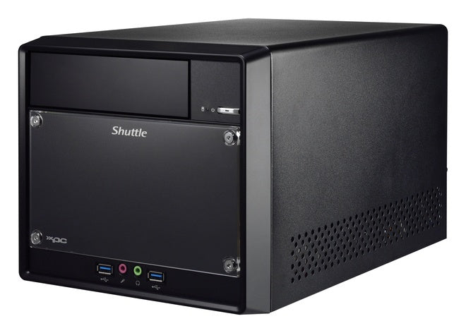 Shuttle XPC Cube SH310R4V2 Barebone PC Intel H310