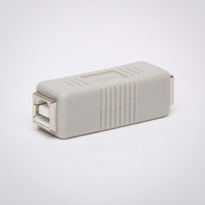 USB Type B Female to Female Adapter - Coupler and Gender Changer