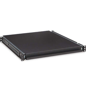 Kendall Howard 20x16.5 Inch (18 Inch Ext) 1U Non-Vented Sliding Rack Shelf