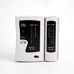 Vertical Cable 078-2149 RJ45 and RJ11 Network Cable Tester