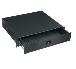 Middle Atlantic D2, 2 Space Drawer, Anodized Finish