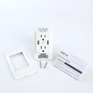 Kit for USB Wall Plate